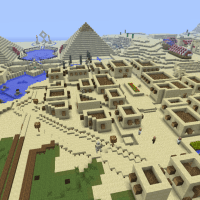 Egypt! Minecraft Egyptian Adventure Map (Download + Review)