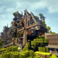 Minecraft Steampunk Island Map (Download + Review)