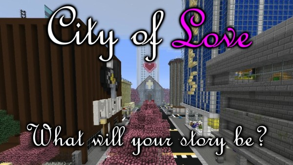 minecraft city of love map download