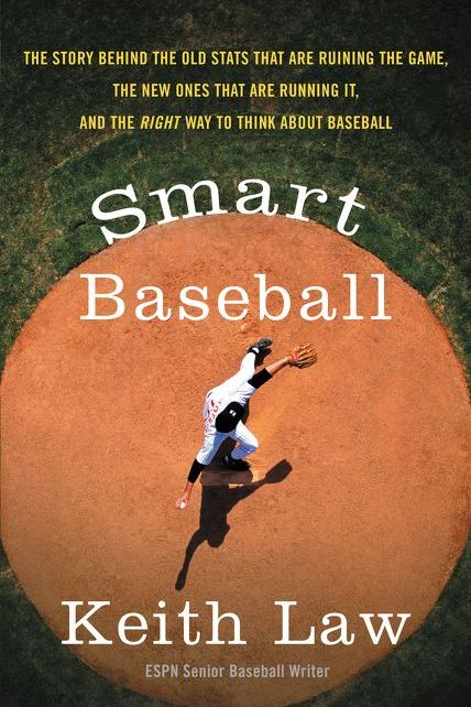 Cover to Smart Baseball by Keith Law.