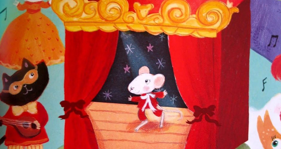 Marcello Mouse and the Masked Ball, by Julie Monks