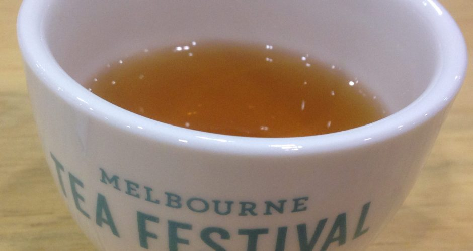 OD-ing on tea at the Melbourne Tea Festival