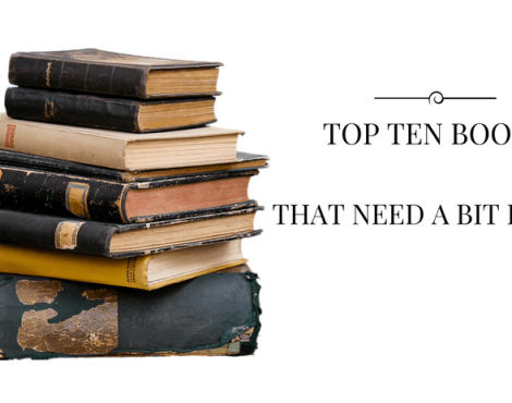Eight Books I'd Love Santa to Leave Under the Tree