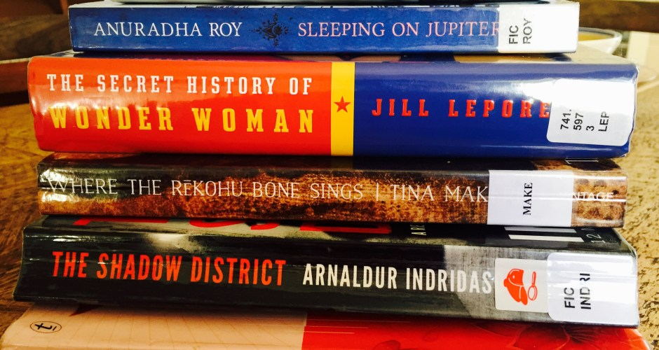 Six books the library nabbed for me (and why I'm reading them)