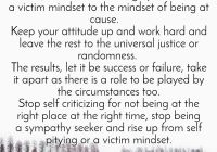 What to do when you become a victim of circumstances