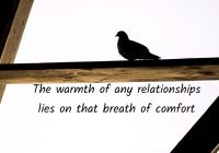 Breath of comfort