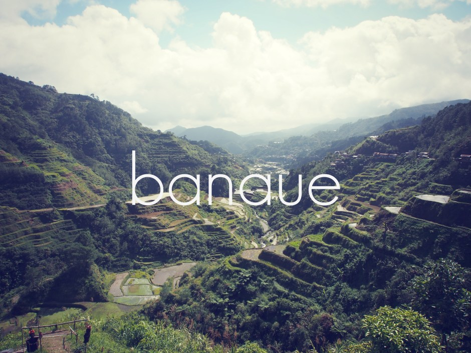 backpacking banaue