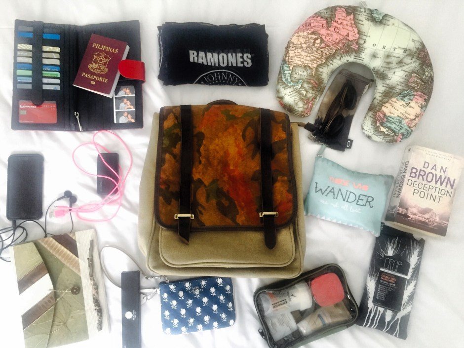 What's in a bag | Words and Wanderlust