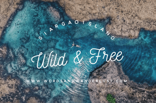 Siargao Words and Wanderlust