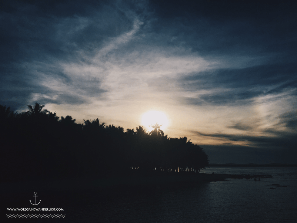 Siargao Sunset   Words and Wanderlust