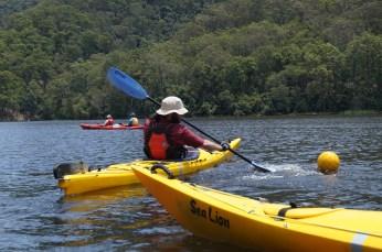 Canoepolo on Tallowa, Nick