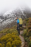 Ossa ascent, below Dorris, winter