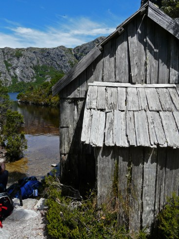 Crater Lake Boat Shed, summer