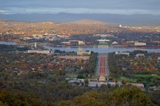 Dawn over Canberra, May Day