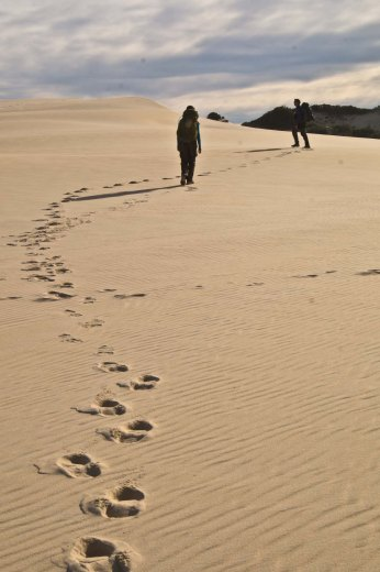 Footprints in the sand, Nadgee