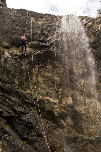 Bungonia, First Abseil