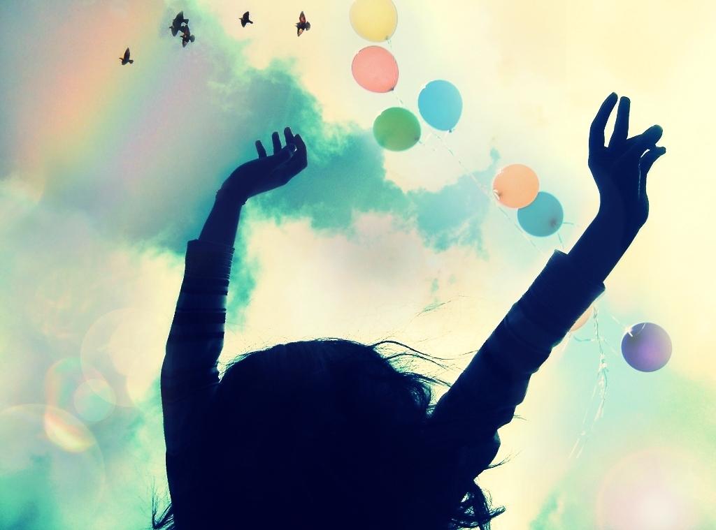 The fruit of the Spirit is joy.