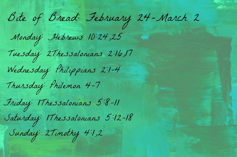 Bite of Bread Feb 24-March 2
