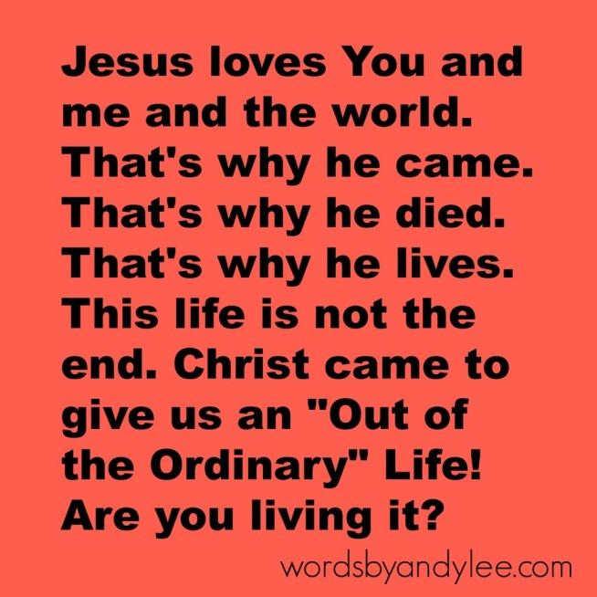 Jesus Loves You creation