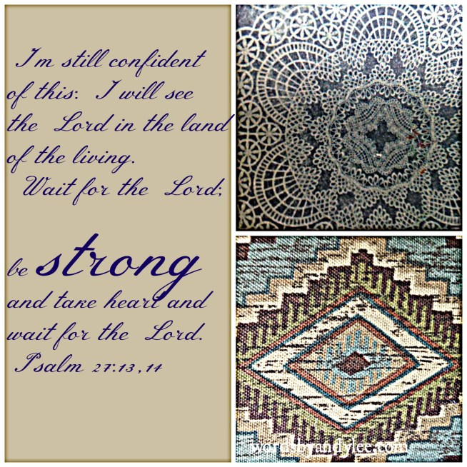 Be strong and wait_Psalm 27