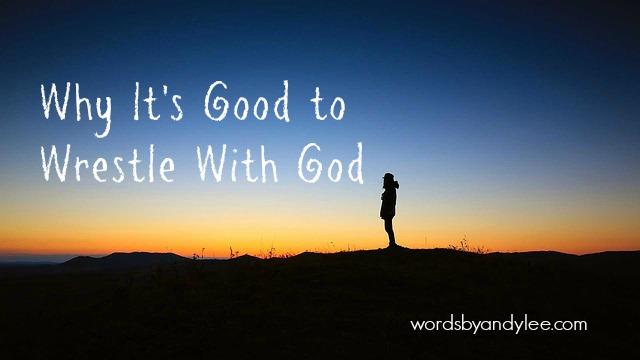 Wrestling with God: Holding onto the Promise of Purpose/ Epiteleo
