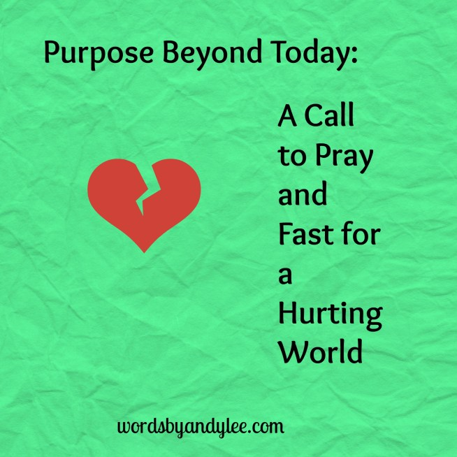 A Call to pray and Fast