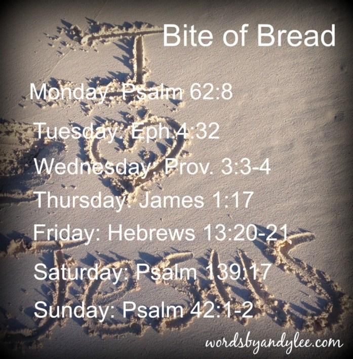 Bite of Bread March 1