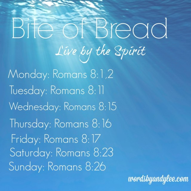 Bite of Bread by the Spirit