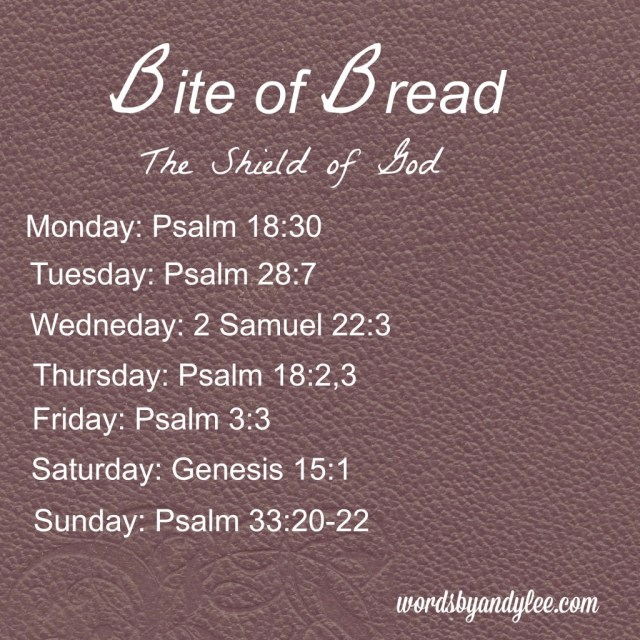 Bite of Bread Shield of God