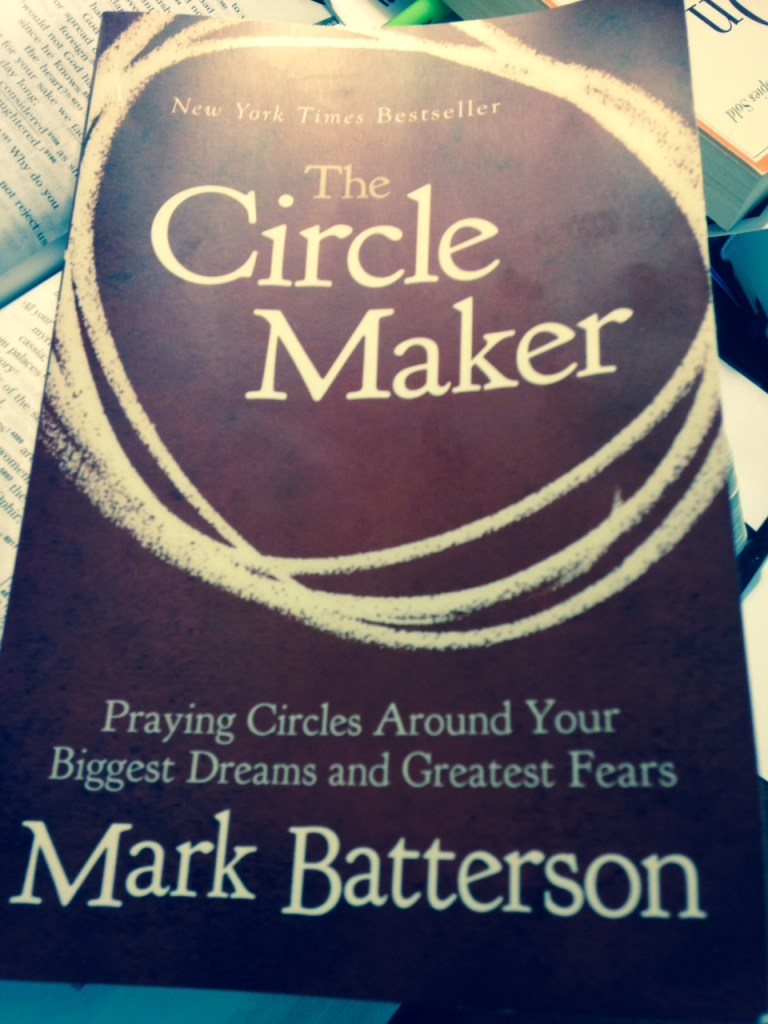 Pray hard when it's hard to pray: The Circle Maker Giveaway