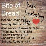 Bite of Bread: Verses when you need to know God is on Your Side