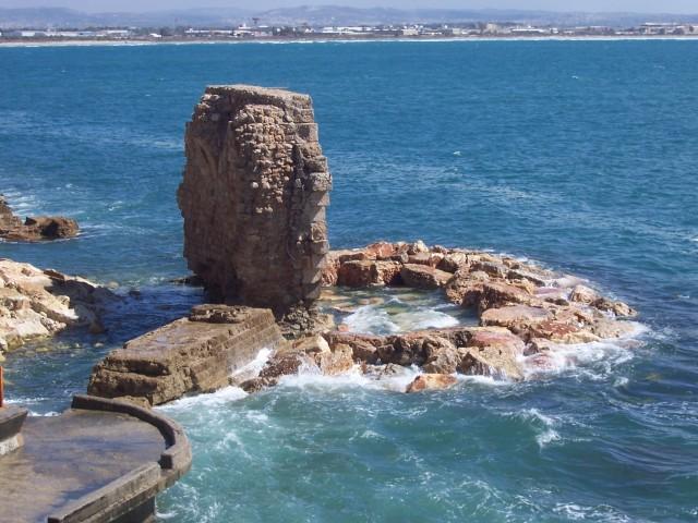 Ruins in the Mediterranean Sea
