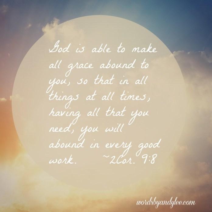 2 Cor. 9-8
