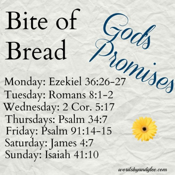 bite of bread Gods promises