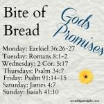 Bite of Bread: Standing on the Promises of God