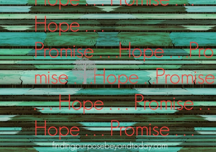 Hope and promis3