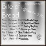 Bite of Bread: Bible Wisdom for 2016