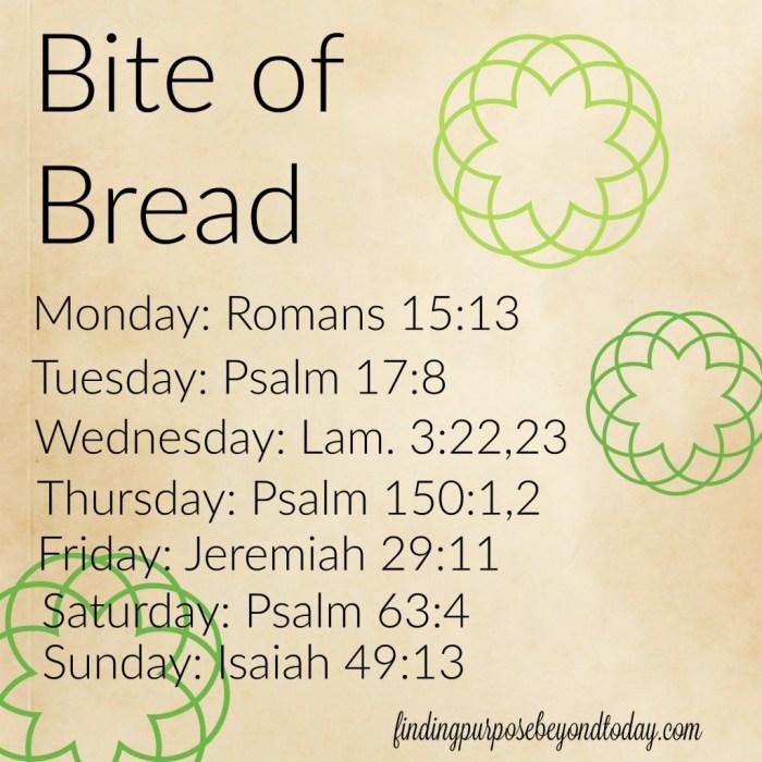 Bite of Bread Feb 15