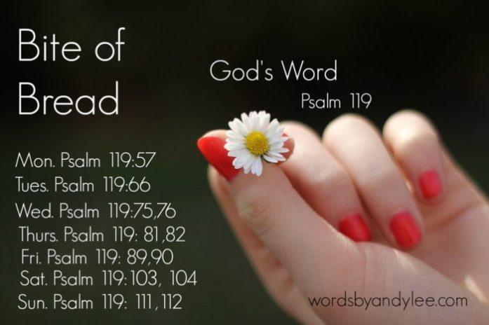 Bite of Bread God's Word