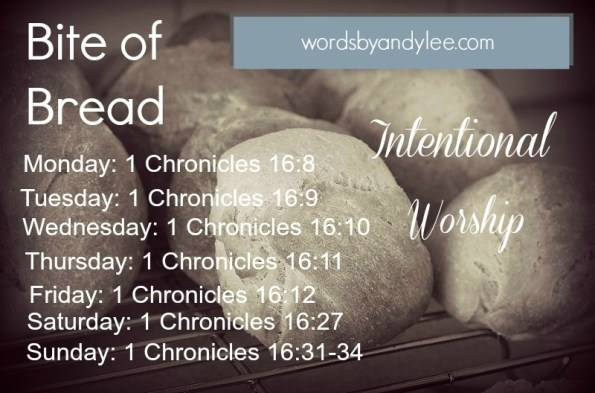 Bite of Bread intentional worship 2