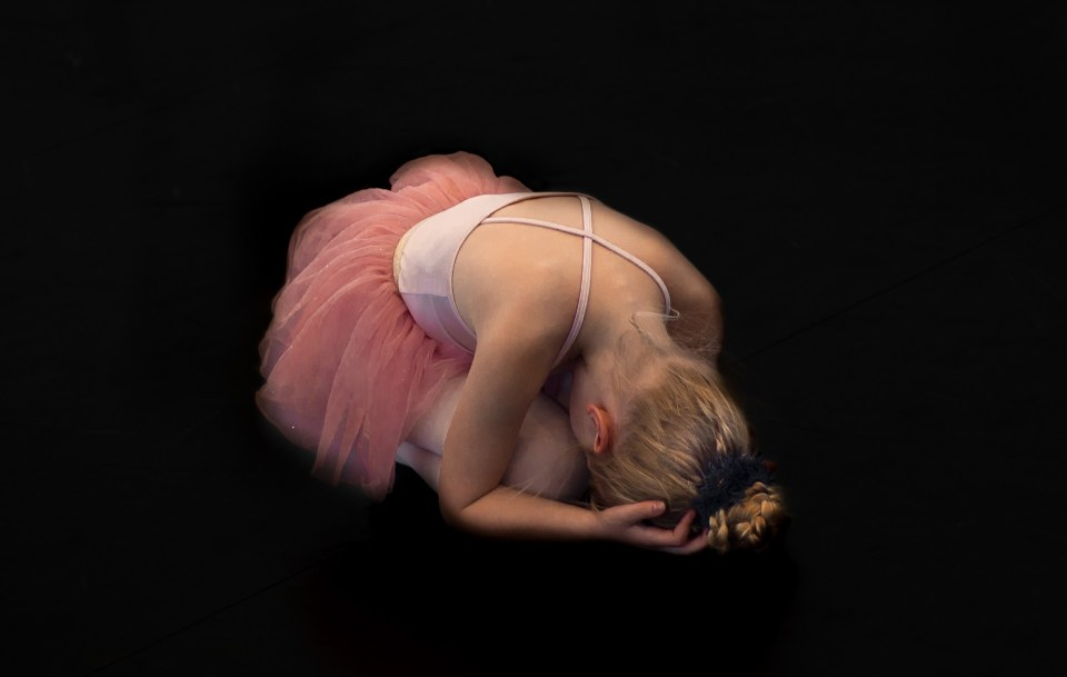 fallen ballerina