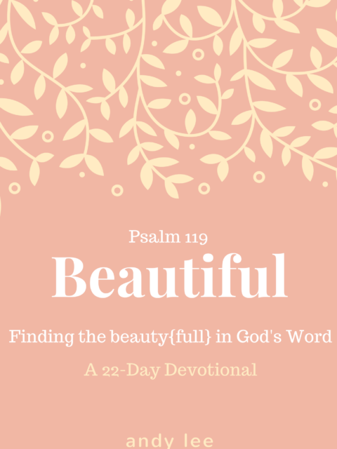 Psalm 119 devotional