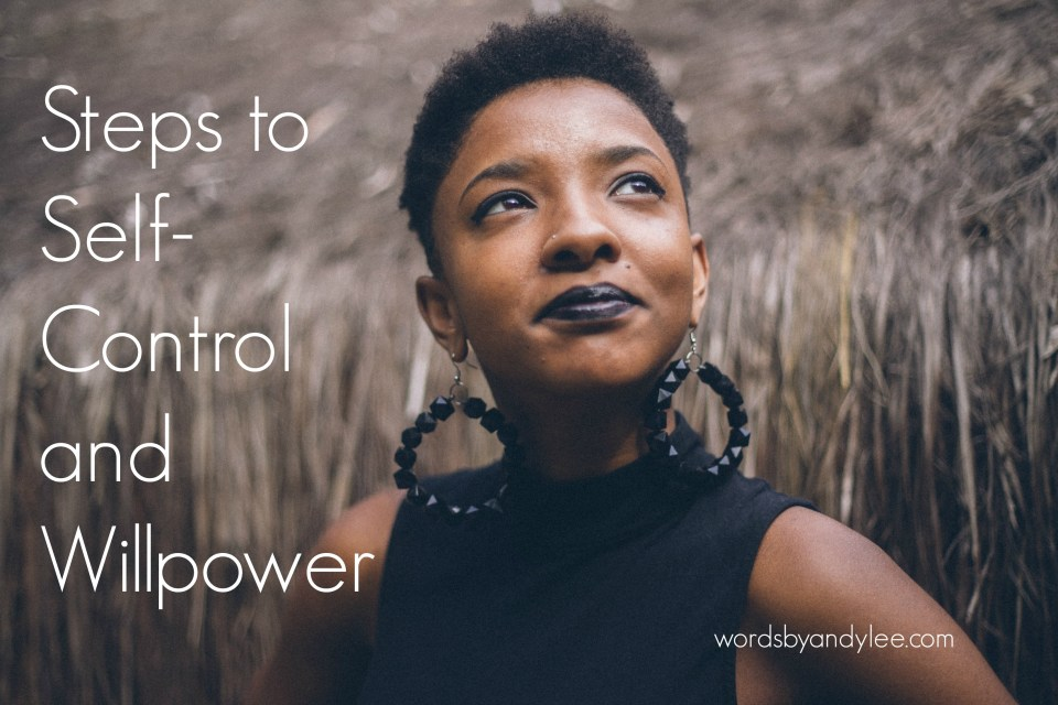 Steps To Self-Control