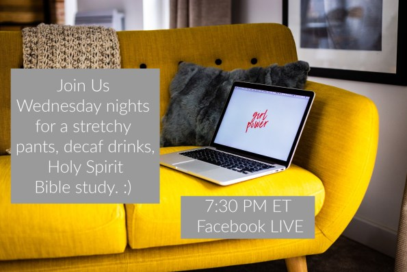FacebookLive Bible study