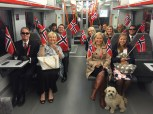 17th of May Train ride to Oslo