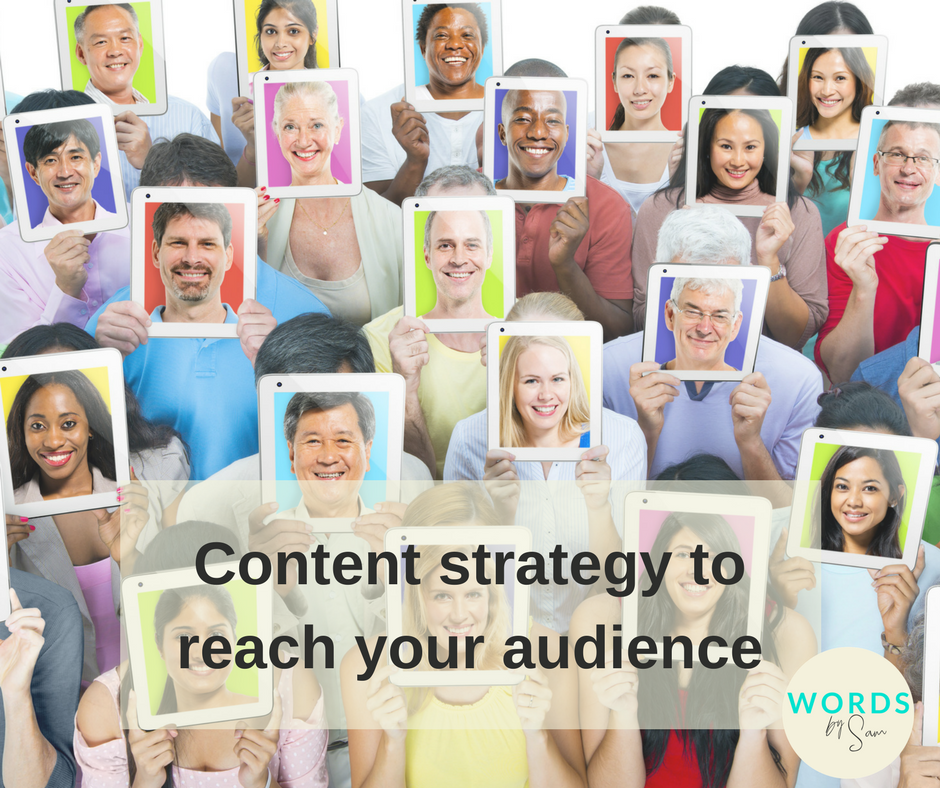 Reach the diverse customer base online through effective content strategy