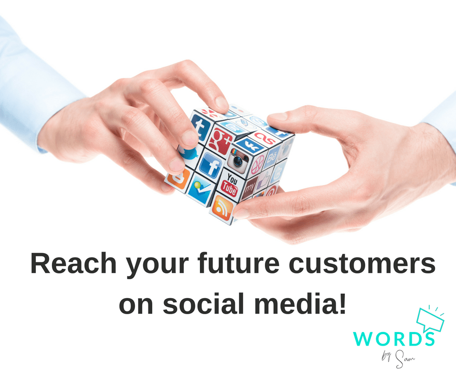 Affordable social media to reach your future customers