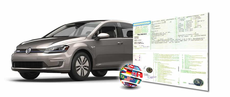 Tłumaczenia dokumentów samochodowych(w pakiecie)