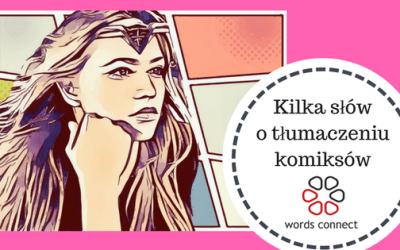 O tłumaczeniach komiksów