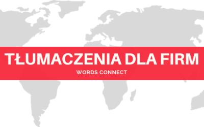 Tłumaczenia dla firm